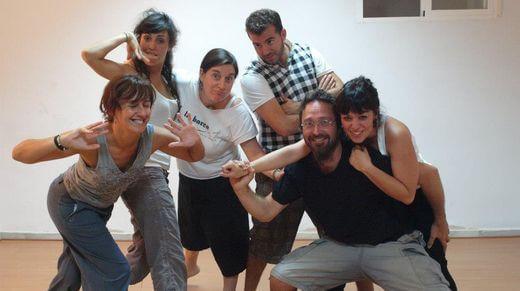 Curso de Teatro Nivel Iniciación - Trabajando en grupo - La Barca otro Teatro