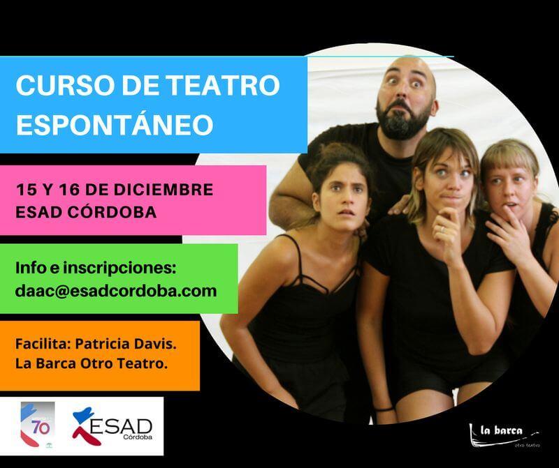 Curso de Teatro Espontáneo ESAD Córdoba