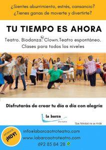 La Barca otro Teatro - Cursos Febrero 2018